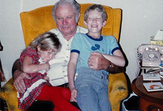 Grandpa, Jenny and Me