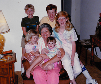 Nonnie and kids